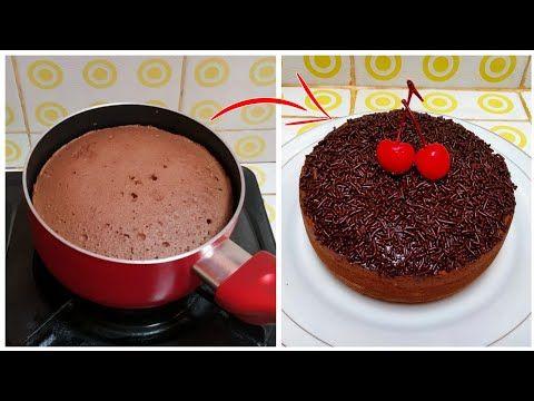 Cara Membuat Bolu Coklat 2 Telur Tanpa Oven Tanpa Kukusan Youtube Makanan Kue Kue Lezat