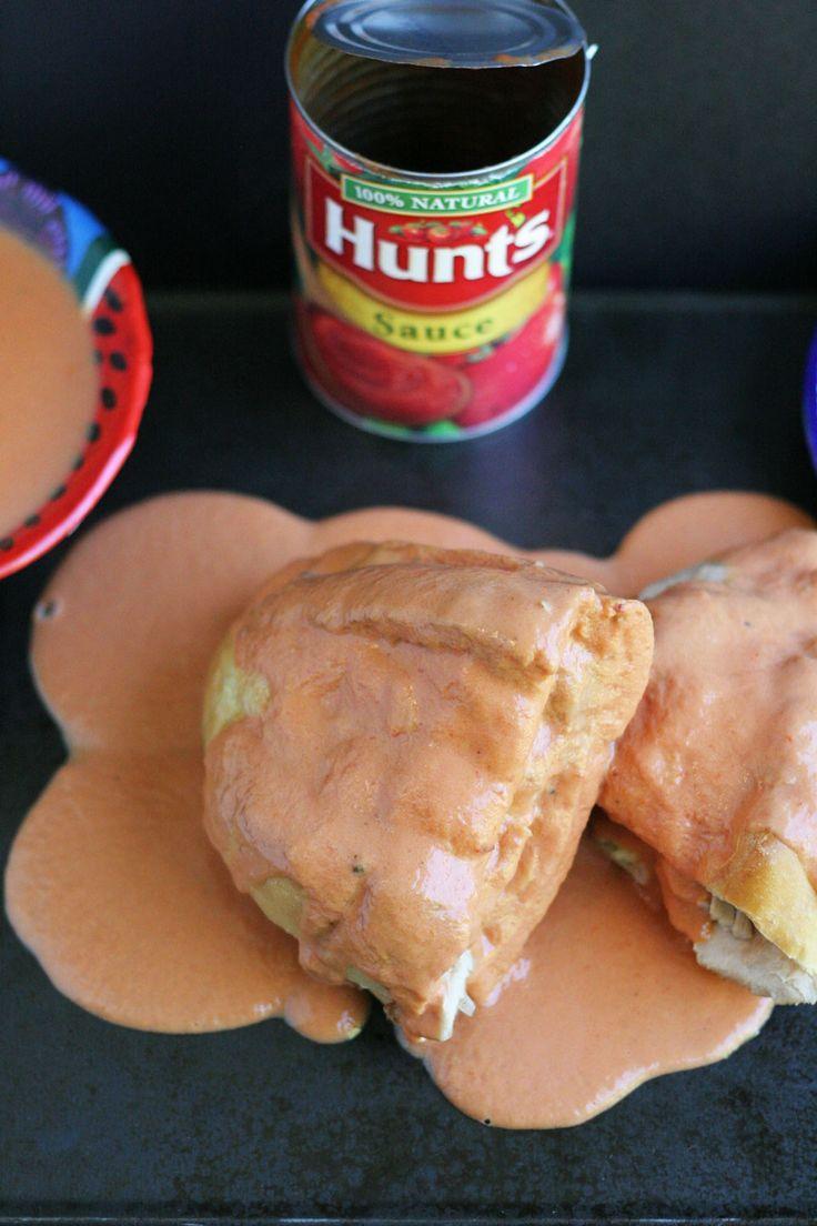 Torta Ahogada-Tomato and Chipotle Sauce Dunked Chicken Sandwich