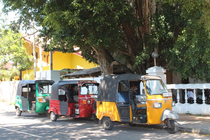 Tuk Tuk rank, Negombo Beach Sri Lanka