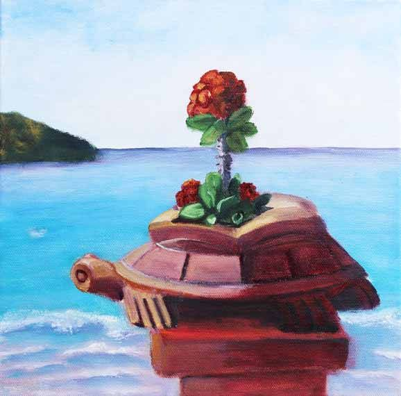 Landscape painting,Zihuatanejo, Mexico, Oil on Canvas,Original Oil Painting,Ocean painting,Fine Art,Giclee,Prints,Gift Ideas,Carol Lytle by Lytlebitartisitic on Etsy