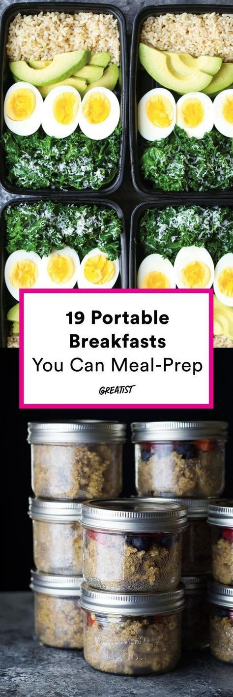 19. Meal-Prep Pancakes #greatist https://greatist.com/eat/healthy-breakfast-ideas-you-can-meal-prep