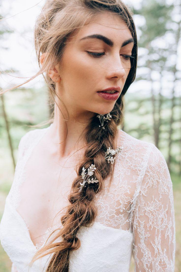Elizabeth Stuart Mabel Gown featured in Naturae Design Summer 2015 Lookbook. Image by Svenja Petersen Photography #elizabethstuart