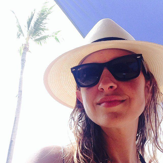 Pin for Later: Enviable Summer Snaps From the Stars  Jennifer Meyer shared a selfie after hitting the beach. Source: Instagram user jenmeyerjewelry