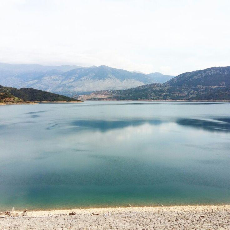 Greece Mornos lake