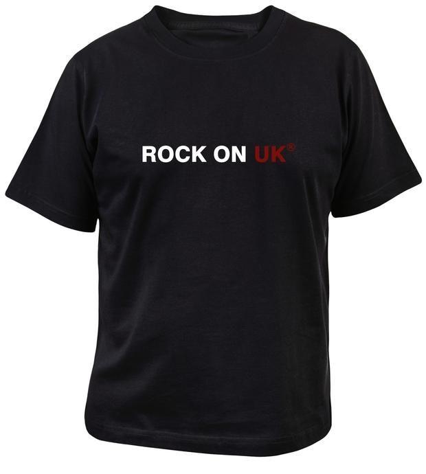 ROCK ON UK® Men's Soft Style T-Shirt - Black