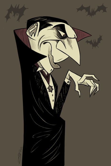 Character Design Zach : Bela lugosi as dracula image source unkown dibujando