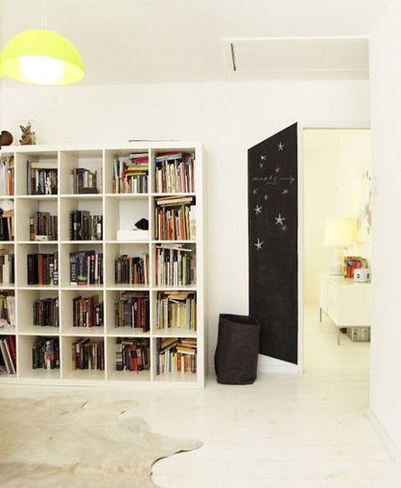 """The World's Most Popular Bookcase: Best Uses of the IKEA Expedit"". (click to see the whole post)"