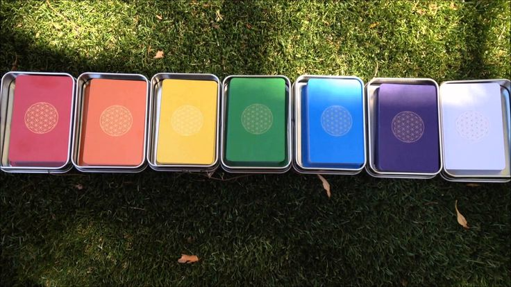 Tutorial 1: Chakra Cards for self-healing