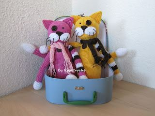 Amigurumi, Pinka e Boris