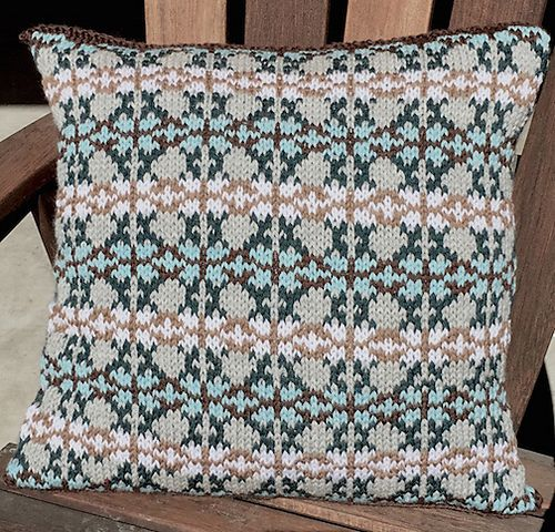 Ravelry: Kaleidoscope Pillow pattern by Margaret Holzmann