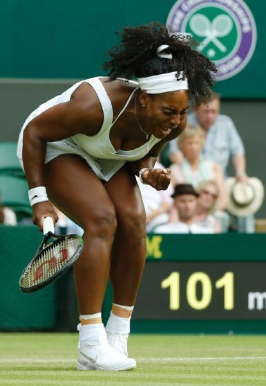 7/3/15 Rena was steely! #Serena has NEVER faced a British player at #Wimbledon! ... Via Tennis · Serena faced down a stadium of opponents, and a stubbornly good one across the net: www.tennis.com/... …