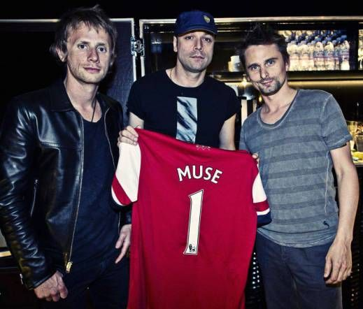 Muse Arsenal Football Shirt