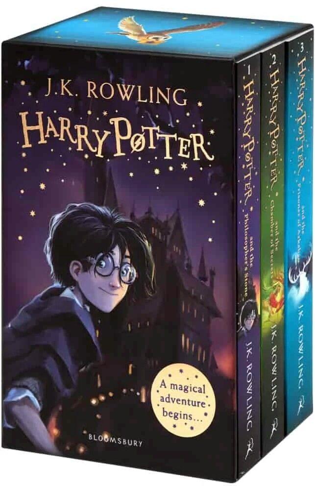 Harry Potter 1 3 Box Set A Magical Adventure Begins Paperback In 2020 Harry Potter Rowling Harry Potter Harry Potter Books