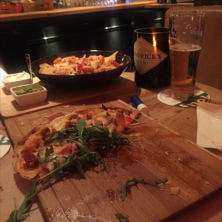Flamküchen Pizza style and Nacho's at kelder 65 Leeuwarden