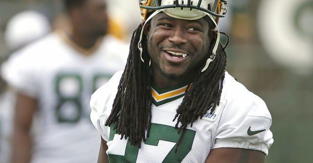 Eddie Lacy Is Having A Garage Sale And You're Invited -- Eddie Lacy is moving on to Seattle, but he's got some junk in Green Bay he needs to get rid of first. You're invited to Lacy's garage sale.