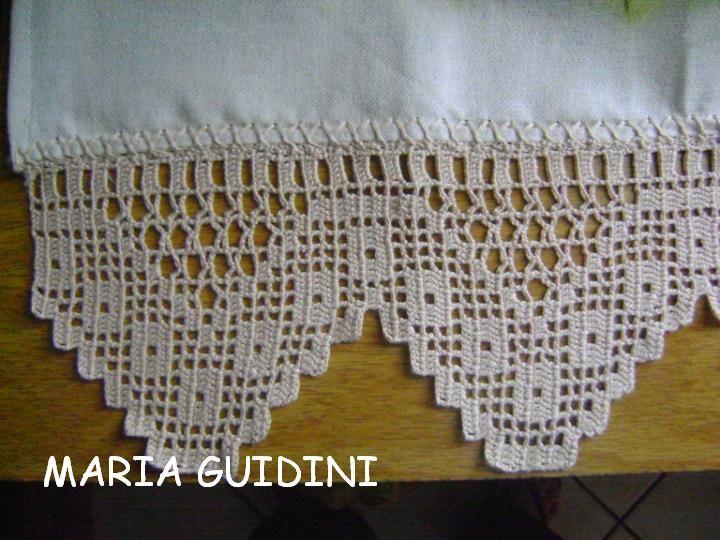 barrado de croche para toalha de banho - Pesquisa Google