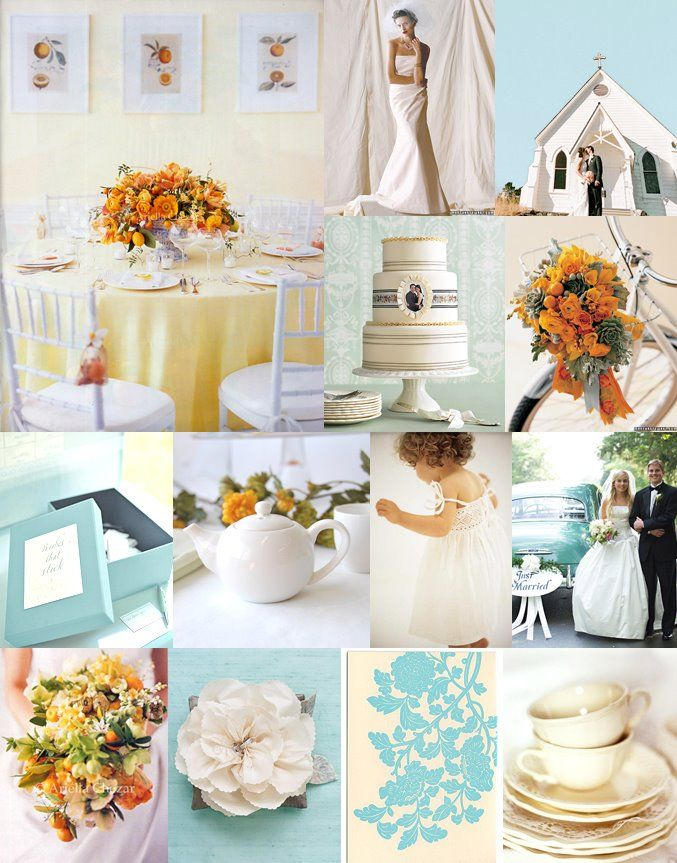 17 Best Images About A Wedding In Turquoise Amp Tangerine On