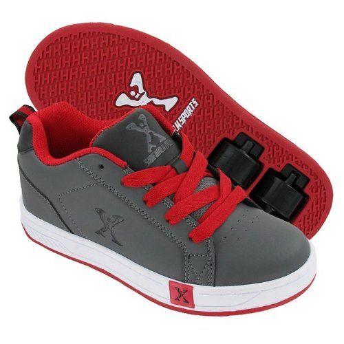 Sports Lane Boys Roller Skate Shoes [Grey/Red ,1] Sidewalk http://www.amazon.co.uk/dp/B00JGO4HJQ/ref=cm_sw_r_pi_dp_karvub0BZJKSF