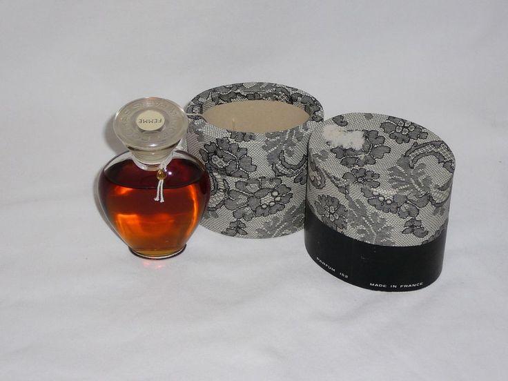 VINTAGE FEMME PARFUM ROCHAS PERFUME 152 Lace Box  Collectible #Rochas