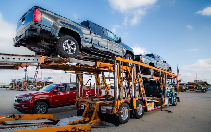 2015 Canyon's and Colorado's heading to a dealer near you!
