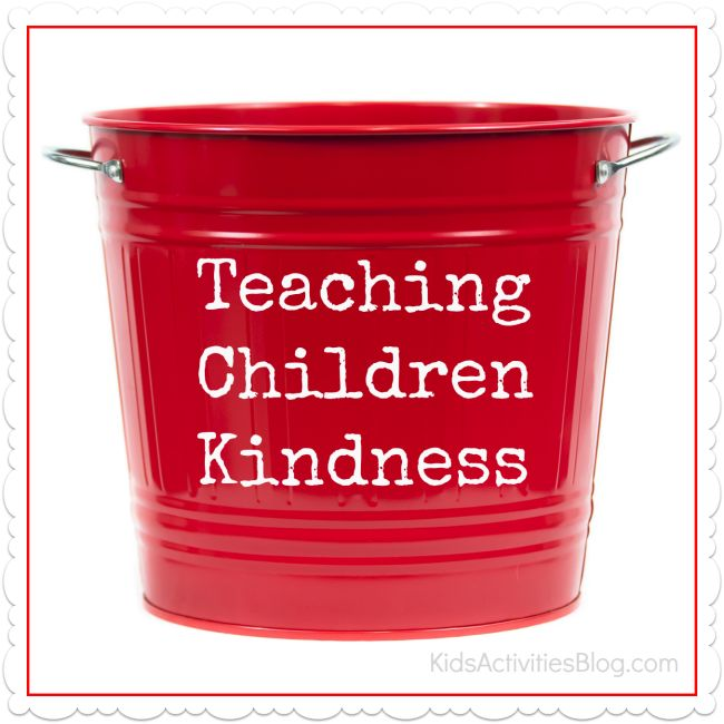 Simple ways to make kindness tangible for kids to understand.