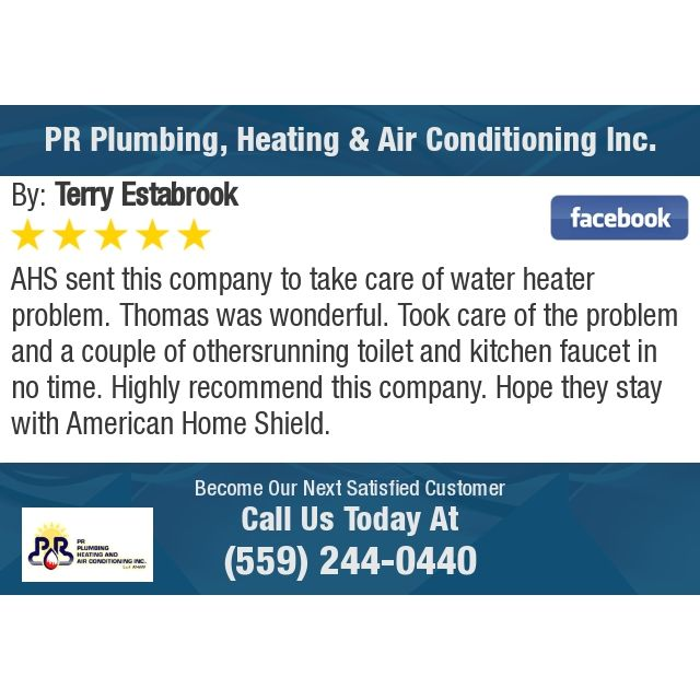 Ahs Sent This Company To Take Care Of Water Heater Problem Thomas