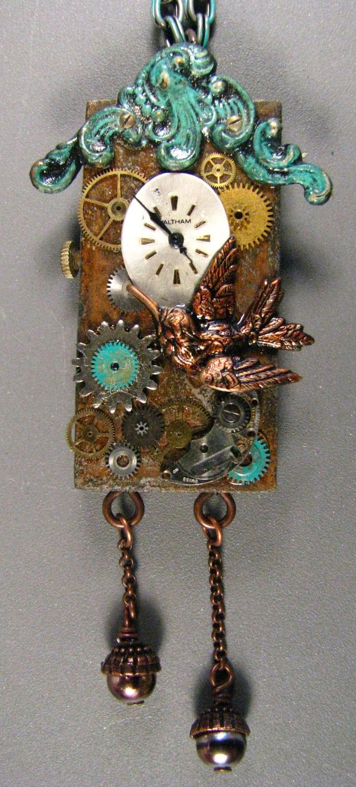 Best 25 domino art ideas on pinterest for Clock mechanisms for craft projects