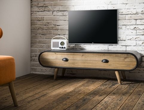 TV Meubel Trunk 1 lade - TV Meubels - Vintage Meubels | 4udesigned.nl