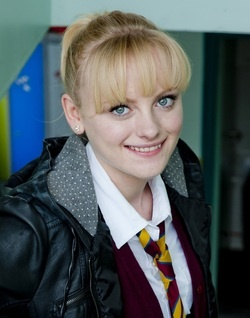 Series 8 saw Scout move into the boarding house at Waterloo Road, away from her hurtful mother Scout is happy among her friends and Maggie becomes a good mother figure to her. However she is bullied by fellow border Rhiannon, but when the reasons for Rhiannon's behavior come out the girls grow closer. (Katie McGlynn)