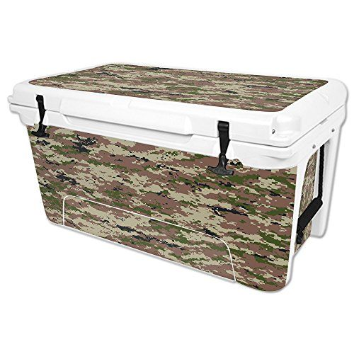 MightySkins Protective Vinyl Skin Decal for RTIC 65 qt Cooler wrap cover sticker skins Urban Camo -- You can find more details by visiting the image link.(This is an Amazon affiliate link and I receive a commission for the sales)