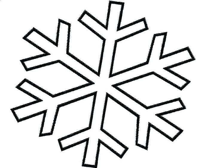 Snowflake Coloring Pages For Adults Snowflake Coloring
