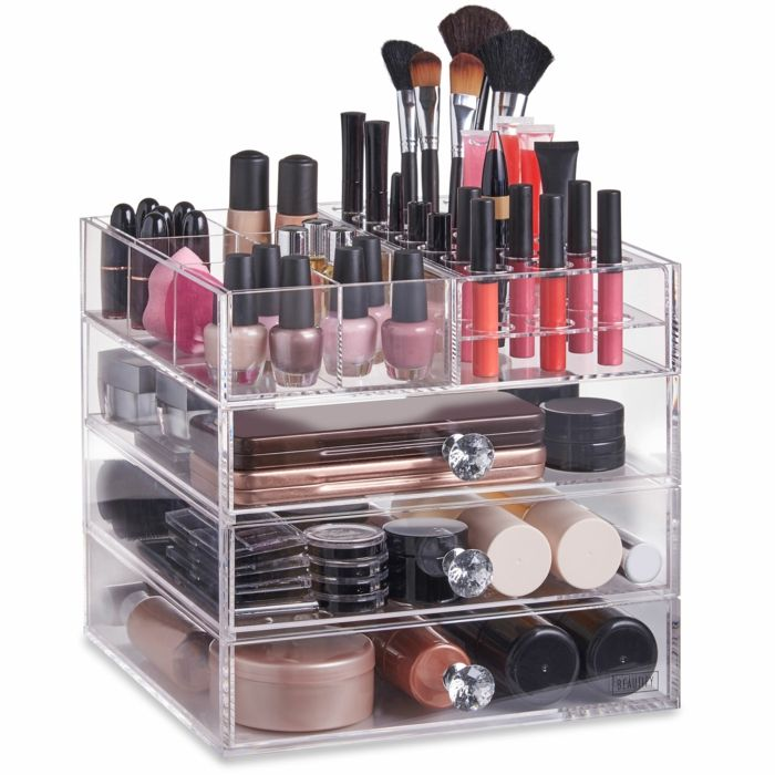 25 best ideas about rangement maquillage acrylique on - Rangement maquillage en acrylique ...