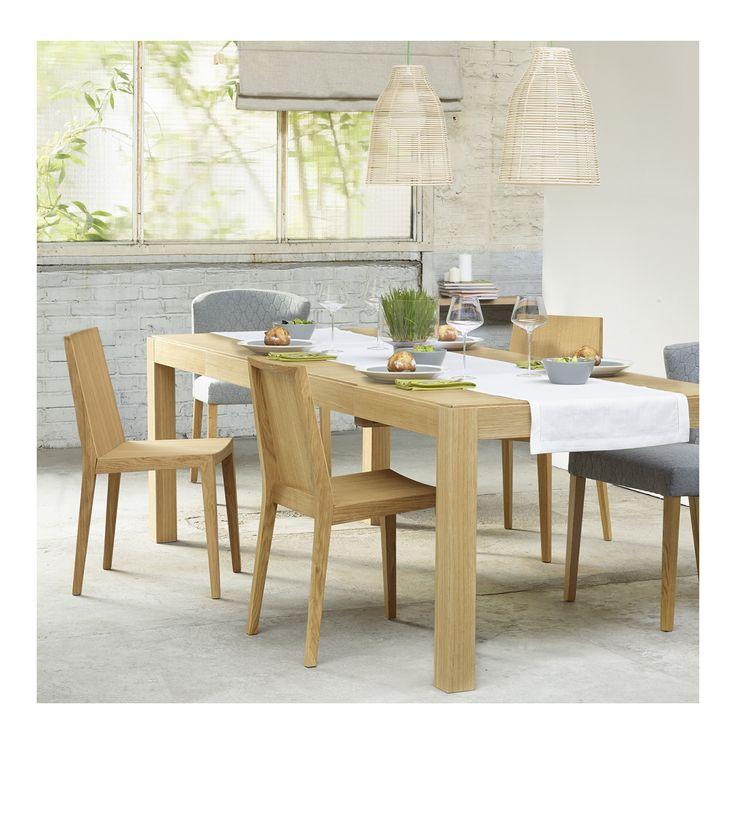 DRIO Tables De Salle A Manger Naturel Bois Objet DesignDining TableExtension