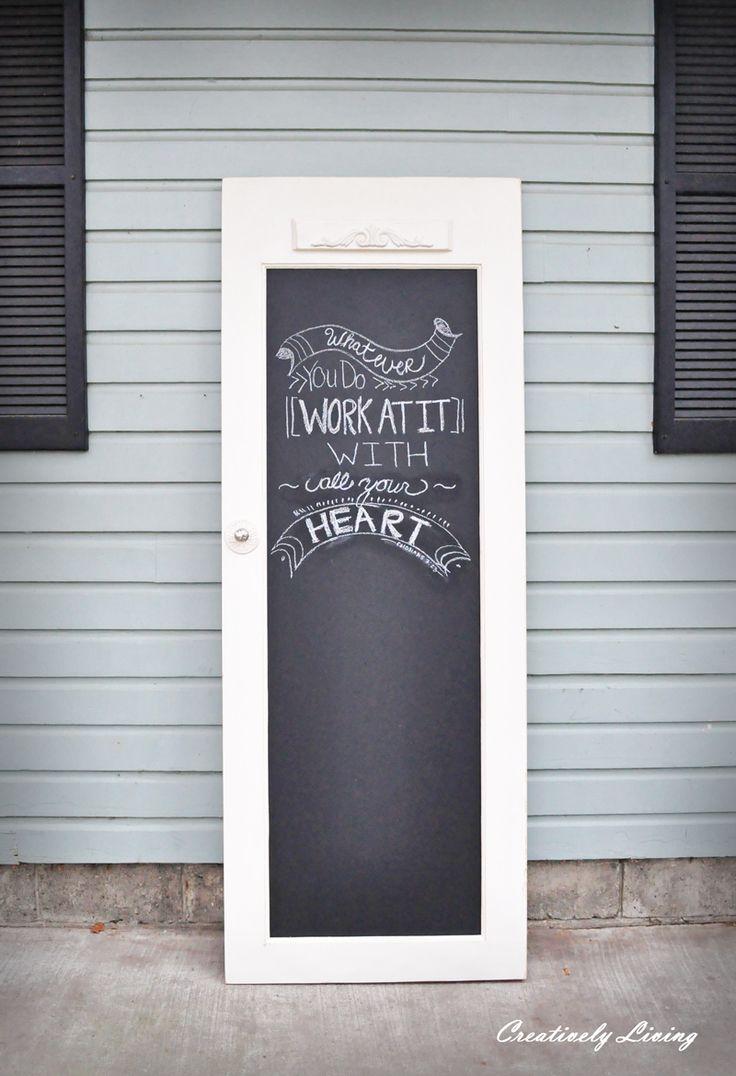 69 best images about chalkboard paint ideas on pinterest for Chalkboard paint ideas