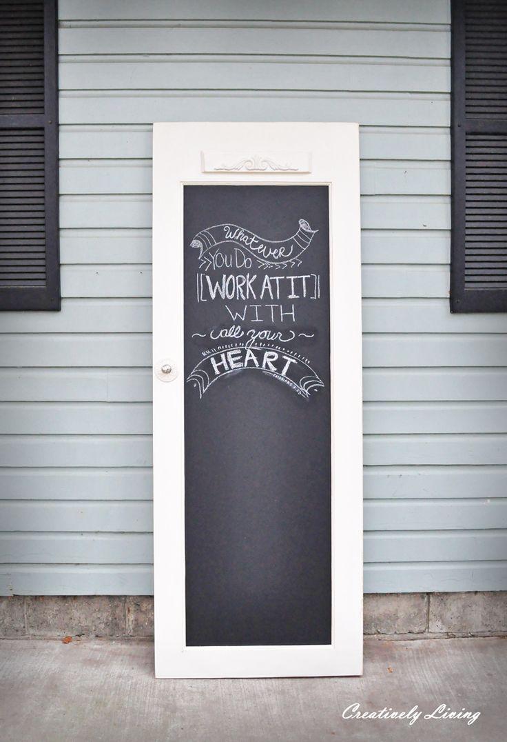 69 best Chalkboard Paint Ideas images on Pinterest | Beautiful ...