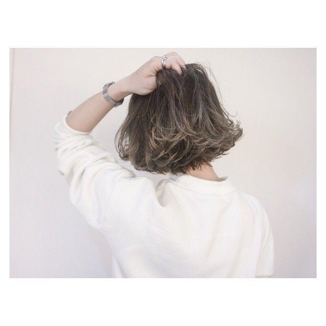 ✂︎SHACHU HAIR✂︎ ショートボブ✖️グラデーションカラー @emi_m0328 さんいつもありがとうございます⭐️ #shachu#hair#ヘアカラー#グラデーションカラー