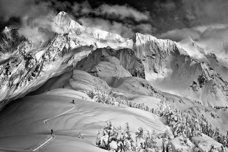 Photographer: Grant Gunderson / Athletes: Zack Giffin, Paul Kimbrough, Matt Steinman / Location: North Cascades, Washington (© Grant Gunders...
