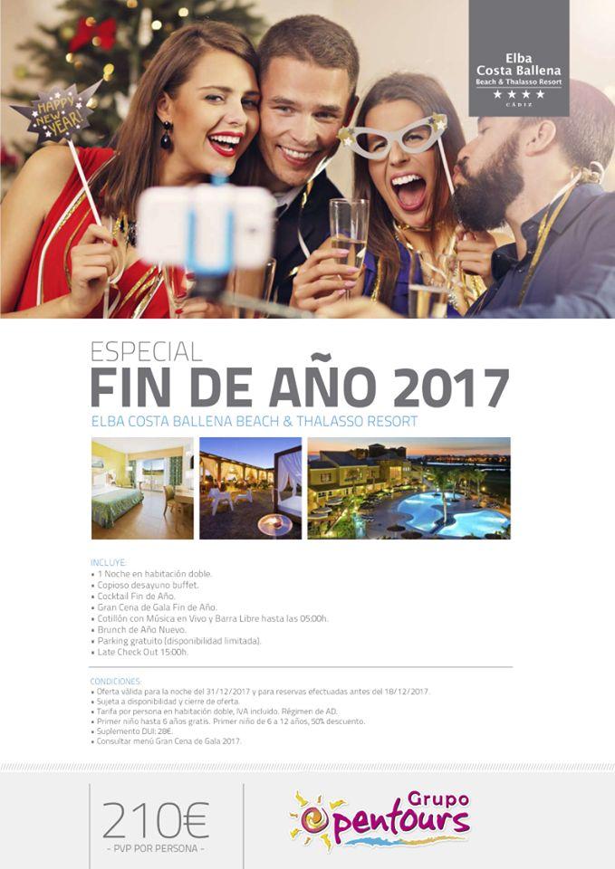 Hotel Elba Costa Ballena **** (Rota, Cádiz) Especial FIN DE AÑO, desde 210 € por persona ----- #elbacostaballena #costaballena #rota #cadiz #costadelaluz #andalucia #findeaño #nochevieja #paquetes #escapadas #ofertas #hoteles #agentesdeviajes #agenciasdeviajes #opentours #grupoopentours ------ Más info y condiciones generales de esta oferta en www.opentours.es