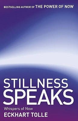 """Stillness Speaks by Eckhart Tolle.  One of our librarians had this to say about Stillness Speaks: """"This book is an experience which is hard to describe. Read it.""""  From the author of The Power of Now, here's another great book about Tolle's philosophies, life view, and the nature of enlightenment."""
