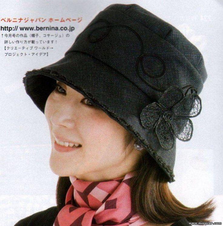 Женственная шляпка1