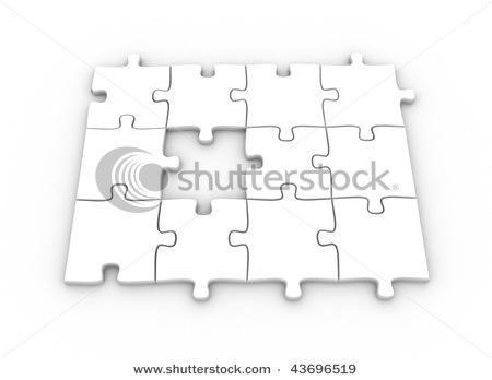 3D jigsaw example