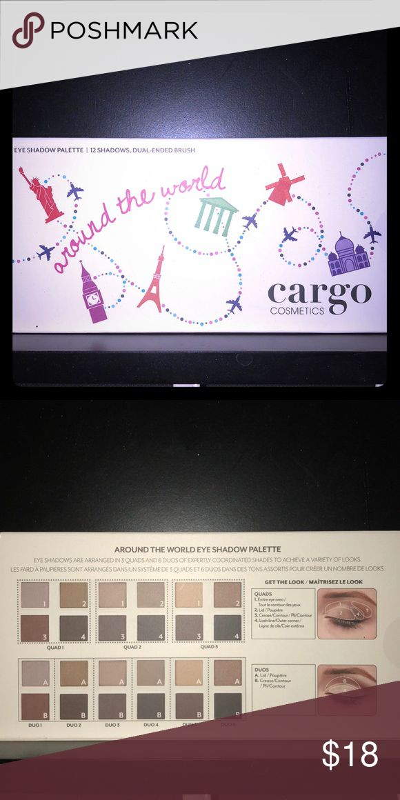 🆕Cargo Cosmetics Eyeshadow Palette 12 Eyeshadows and 1 Brush New and Unused. All Offers Will Be Considered. No Trades. A Random Makeup Sample Will Be Included with Every Package! The Bigger the Bundle the Better the Sample! Loyalty Buyers Will Receive a Free Gift on the Third Transaction! Cargo Cosmetics Makeup Eyeshadow