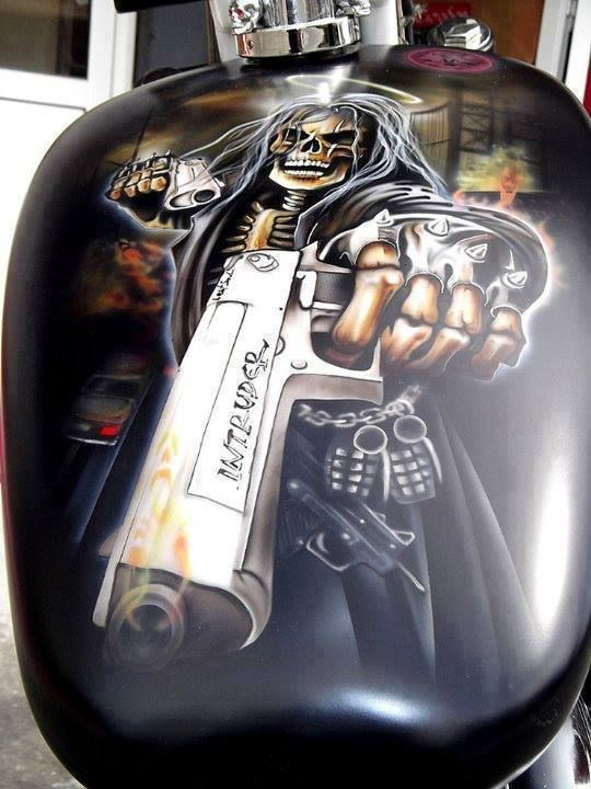 393 best motorcycle paint jobs images on pinterest for Tattoo model jobs