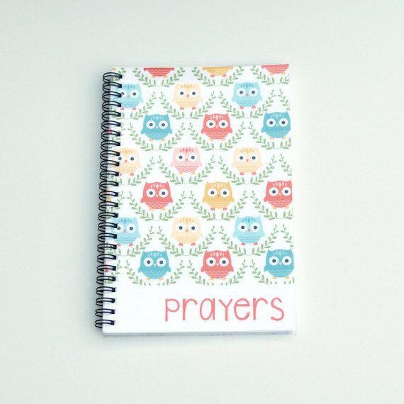Kids Prayer Journal by RootedInk on Etsy