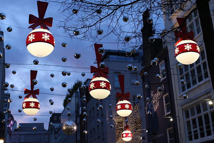 London's Best Christmas Lights 2015