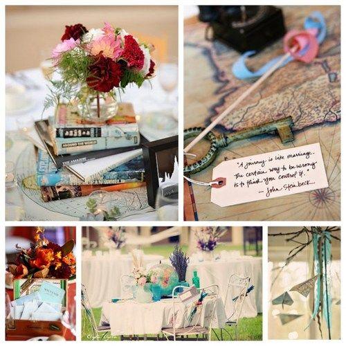 69 best Travel Themed Wedding :: Globe images on Pinterest ...