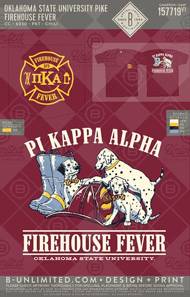 Oklahoma State University- Pi Kappa Alpha #BUonYOU #greek #greektshirts #greekshirts #fraternity #PiKappaAlpha #PIKE #philanthropy #PRshirts