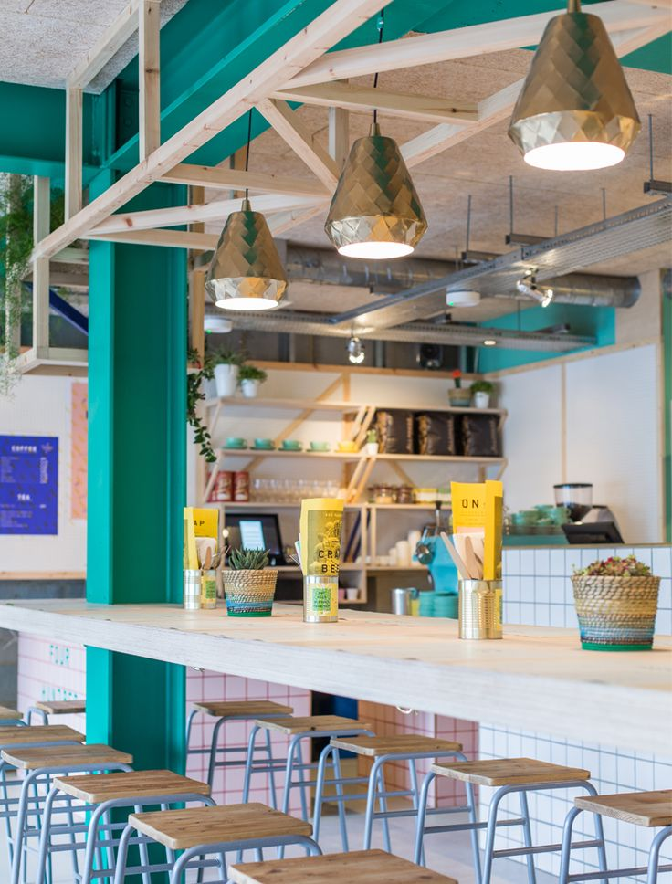134 best commercial interiors bright colourful images for Commercial interior design london