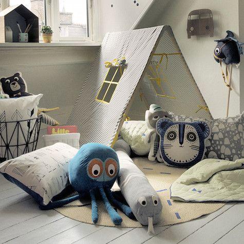 plátěný dětský domeček – stan | Dětské hračky pro holky i kluky | ookidoo.com