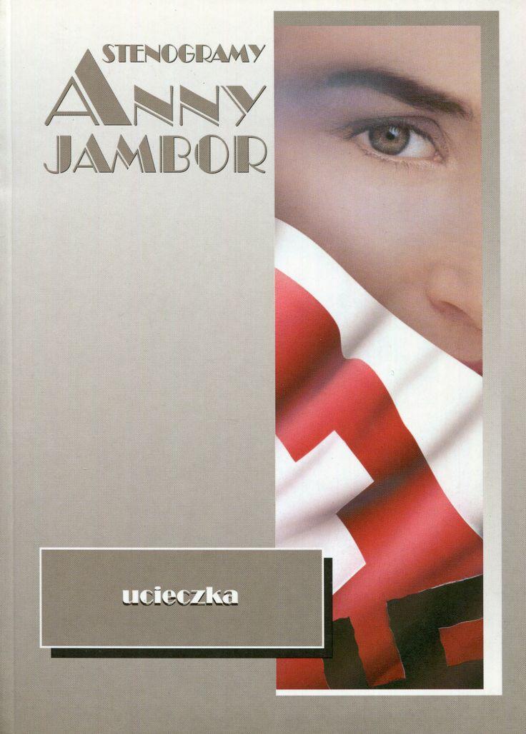 """""""Stenogramy Anny Jambor. Ucieczka"""" Cover by Iwona Walaszek Published by Wydawnictwo Iskry 1998"""
